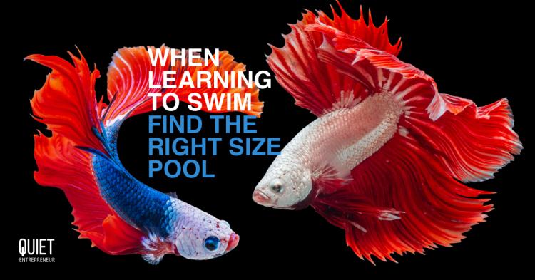 Pardon, I'm learning to swim -Worachat Sodsri